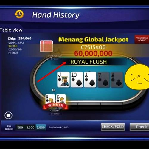 poker jackpot testi